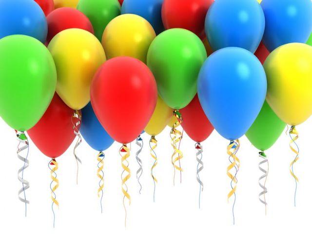 Сочетание цветов воздушных шаров